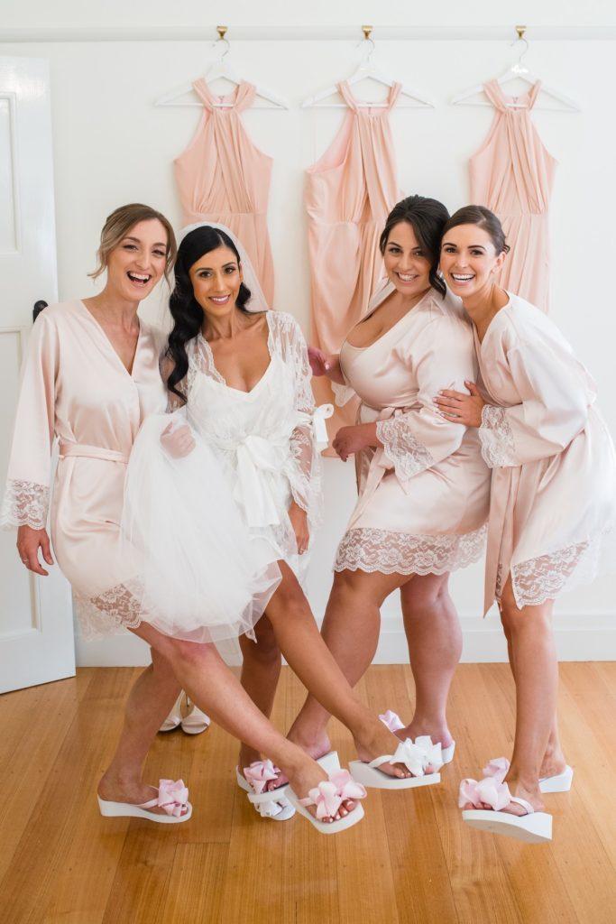 Bridal Flip Flops for Bridesmaids