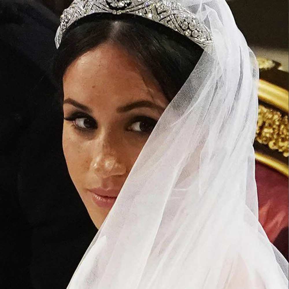 Beautiful Meaghan Markle Tiara for Brides